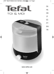 TEFAL EF501601 Instruction Manual