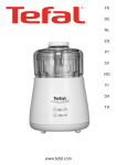 TEFAL DPA130 Instruction Manual