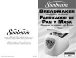 Sunbeam Bedding 005891-000-000 User's Manual