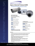 Speco Technologies SIPB1 User's Manual