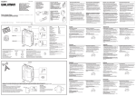 Sony WM-FX355 User's Manual