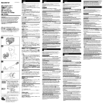 Sony VF-67CP Operating Manual