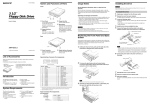 Sony MPF920-Z User's Manual
