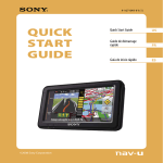 Sony NV-U74T Quick Start Manual