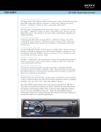 Sony DSX-S200X User's Manual