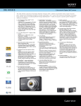 Sony DSC-W310/B Marketing Specifications