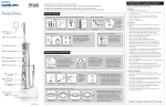 Sonicare Electric Toothbrush 4235 020 35691 User's Manual