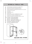 Smeg CR325A7 Installation Instructions