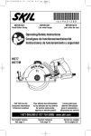 SKIL HD77 User's Manual