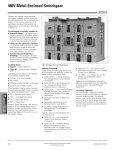 Siemens Switch 480V User's Manual