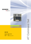 Siemens MC55 User's Manual