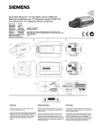 Siemens CCBS1337 User's Manual