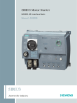 Siemens M200D User's Manual