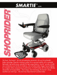 Shoprider UL8W User's Manual