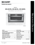 Sharp KB-6002L User's Manual