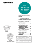 Sharp AR-M207 Owner's Manual