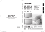 Sharp 46SE94U User's Manual