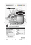 Sharp 32C240 User's Manual