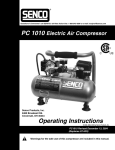 Senco PC1010 User's Manual