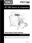 Senco PC1001 User's Manual