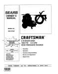 Sears 580.7515 User's Manual