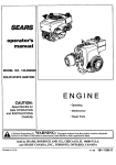 Sears 143.999 User's Manual