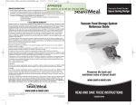 Seal-a-Meal vs230 User's Manual