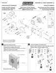 Schlage B362 User's Manual