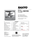 Sanyo DS27225 User's Manual