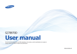 Samsung S27B970D User's Manual