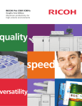 Ricoh C901 User's Manual