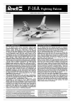 Revell F-16A User's Manual