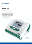 ResMed PORTABLE HOMECARE VENTILATION Elise 150 User's Manual