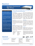 Quantum DLT RACK 2 Data Sheet