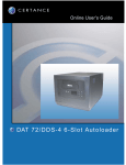 Quantum DAT 432/864 Loader User's Guide