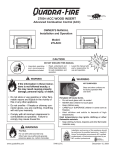 Quadra-Fire 7046-137C User's Manual