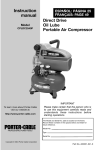 Porter-Cable CPLDC2540P User's Manual