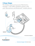 Plantronics Voyager 510S User's Manual