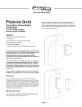 Phoenix Gold 2-Way User's Manual