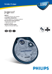 Philips Jogproof AX3200 User's Manual
