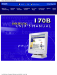 Philips Business 170B User's Manual