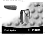 Philips AQ6345/00 User's Manual