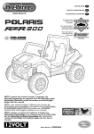 Peg Perego Polaris RZR 900 User's Manual