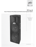 Peavey PV215D User's Manual