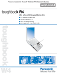 Panasonic Toughbook W4 User's Manual