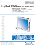 Panasonic Toughbook MDWD & 07 User's Manual