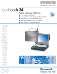 Panasonic Toughbook M34 User's Manual