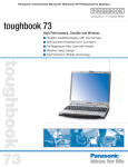 Panasonic Toughbook 73 User's Manual
