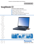 Panasonic Toughbook 51 User's Manual
