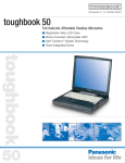 Panasonic Toughbook 50 User's Manual